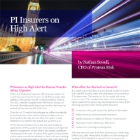 PI Insurers on High Alert for Pension Transfer Advice