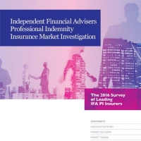 IFA 2016 PI insurance market investigation