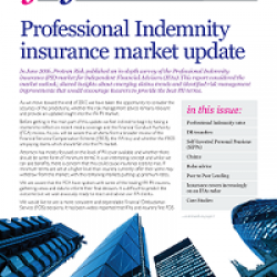IFA PI insurance market update